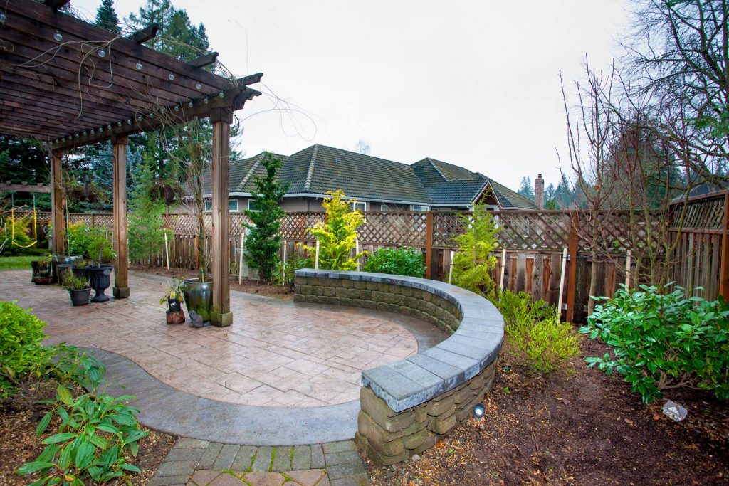 An example of tree planting from Rich's Beaverton Tree Service